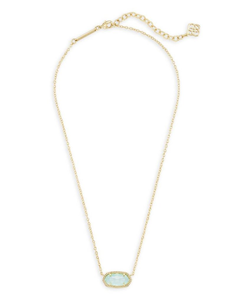 Kendra Scott Kendra Scott Elisa Necklace in Chalcedony