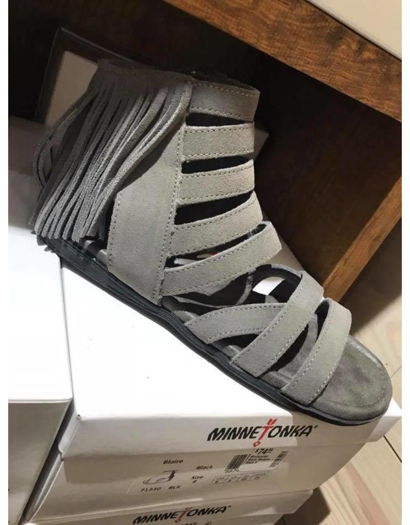 Minnetonka Pisa Sandals - Grey