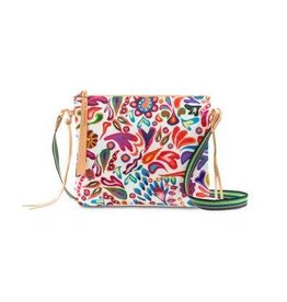 Consuela Crossbody White Swirly