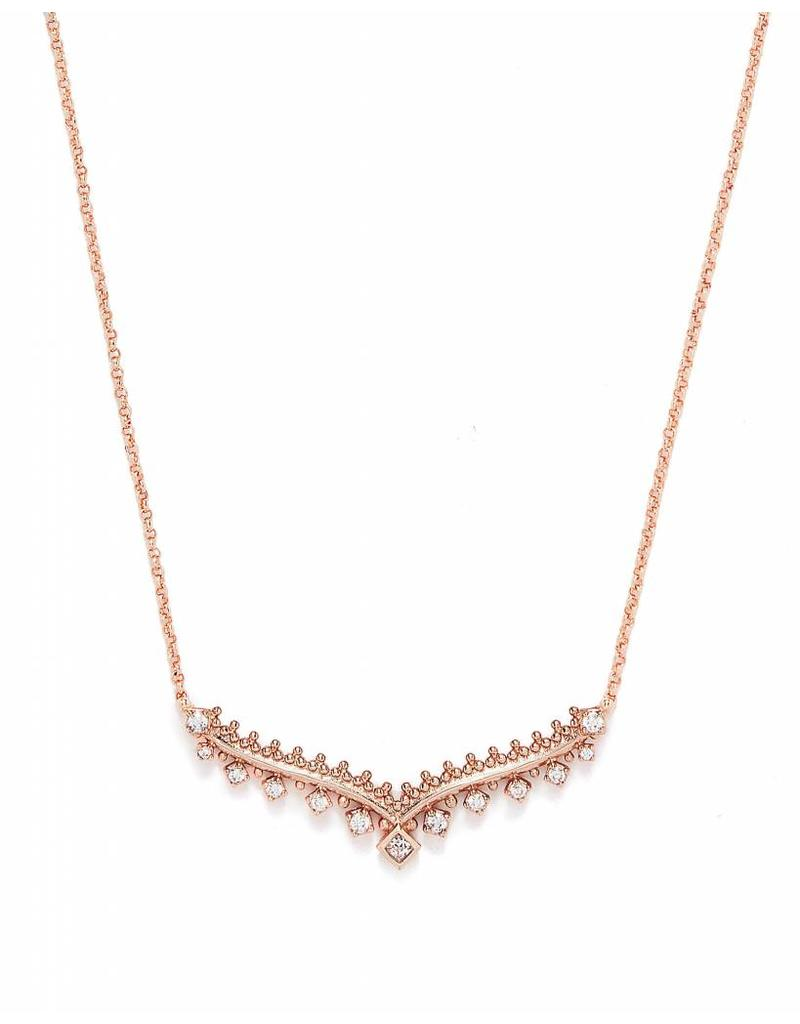 Kendra Scott Kendra Scott Vern Necklace in Rose Gold