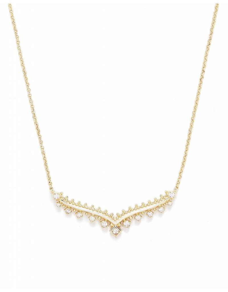 Kendra Scott Kendra Scott Vern Necklace in Gold