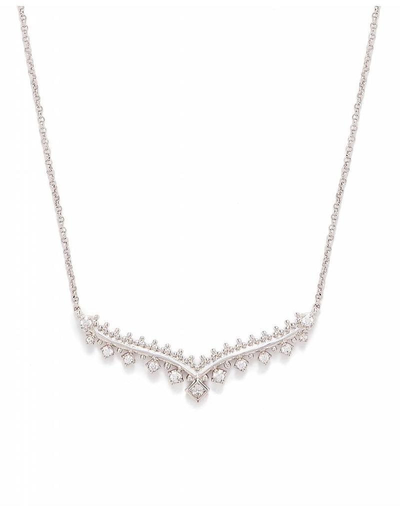 Kendra Scott Kendra Scott Vern Necklace in Silver
