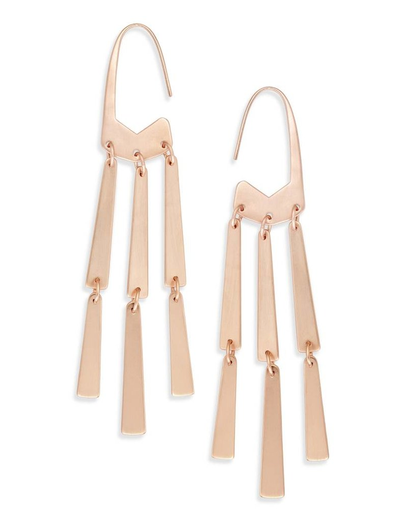 Kendra Scott Mallie Earring Rose Gold