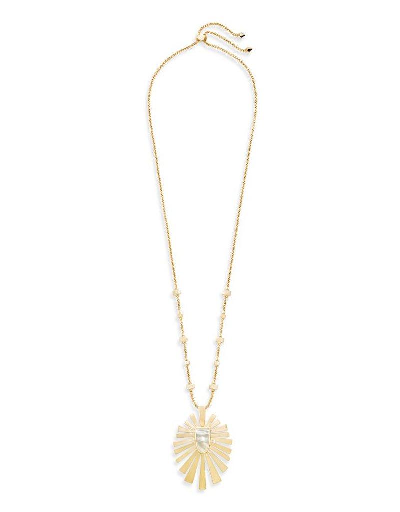 Kendra Scott Kendra Scott Paula Necklace Gold Ivory Mother of Pearl