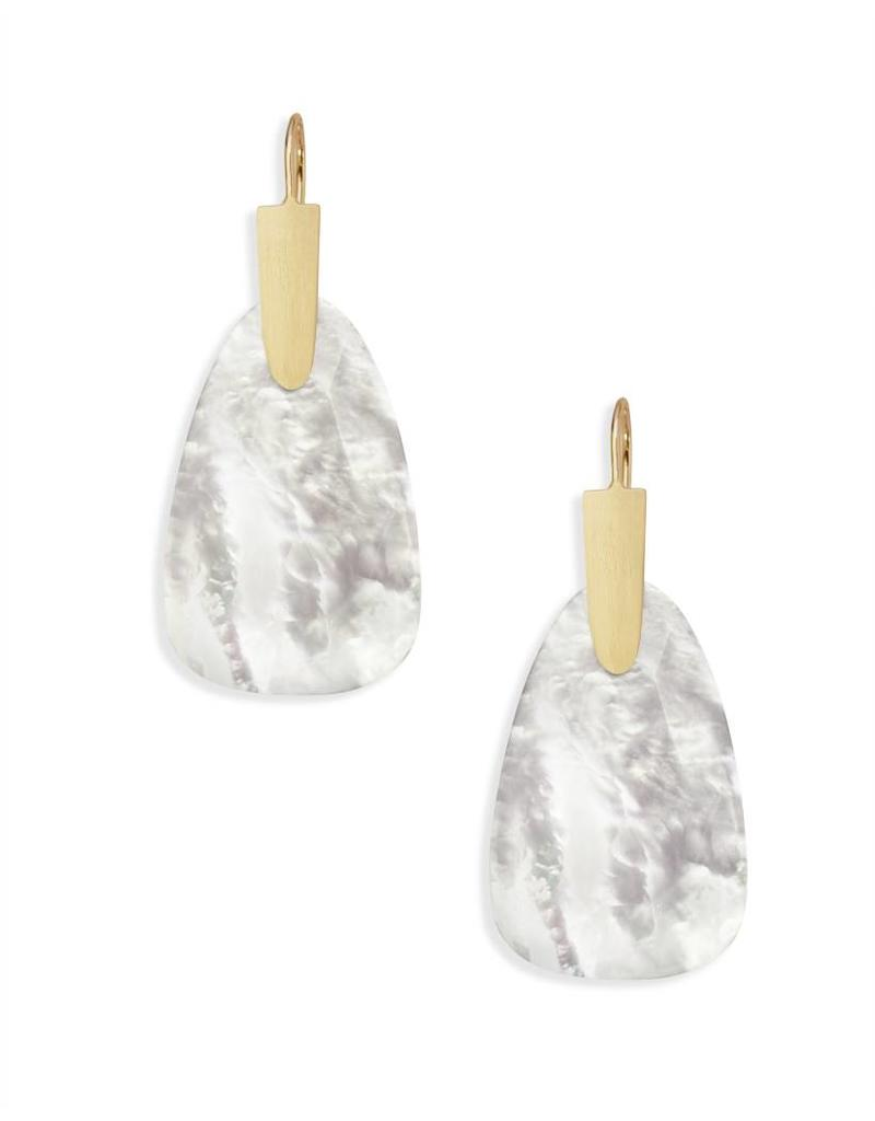 Kendra Scott Marty Gold Ivory Mother of Pearl