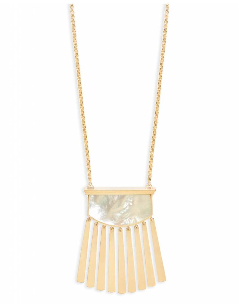 Kendra Scott Kendra Scott Ellen Necklace Gold Ivory Mother of Pearl