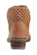 Corral Cut-Out Brown Shorties- Q5027