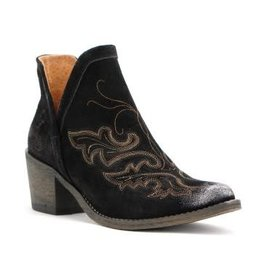 Corral Corral Black Embroidery Bootie- Q0098