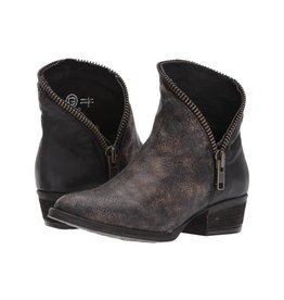 Circle G Circle G Black Zipper Ankle Boot- E1224