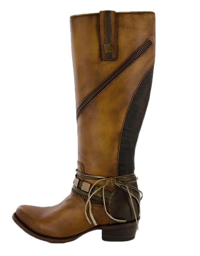 Corral Cuadra Cognac Multi Strap Boots