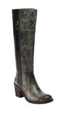 Corral Corral Green Side Buckle Tall Top Boots-E1080