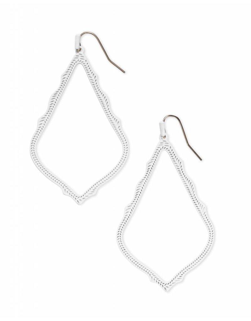 Kendra Scott Kendra Scott Sophee Earrings in Matte White