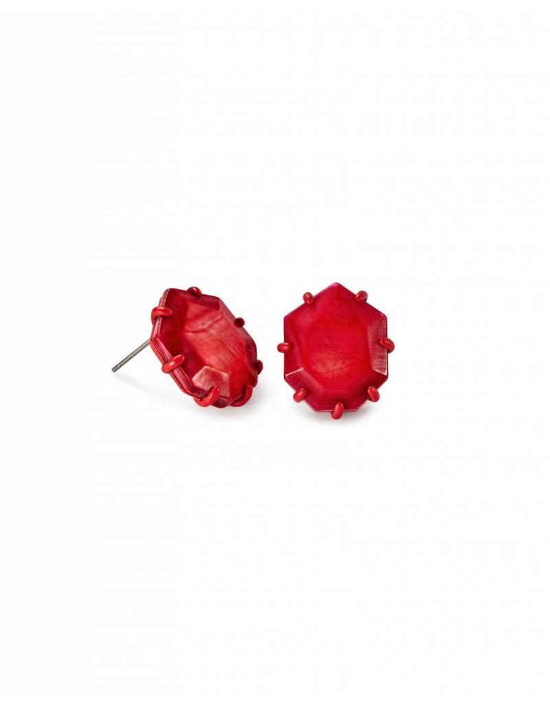 Kendra Scott Kendra Scott Morgan Studs in Red MOP