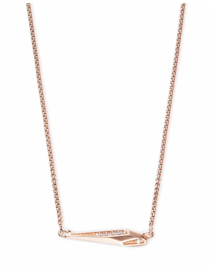 Kendra Scott Kendra Scott Tabitha Necklace in Rose Gold
