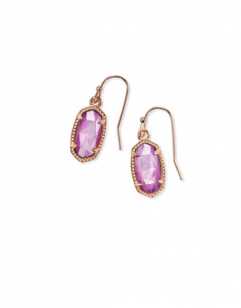 Kendra Scott Kendra Scott Lee Earrings in Rose Gold Lilac MOP