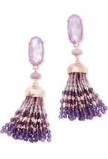 Kendra Scott Kendra Scott Dove Earrings in Rose Gold Lilac MOP