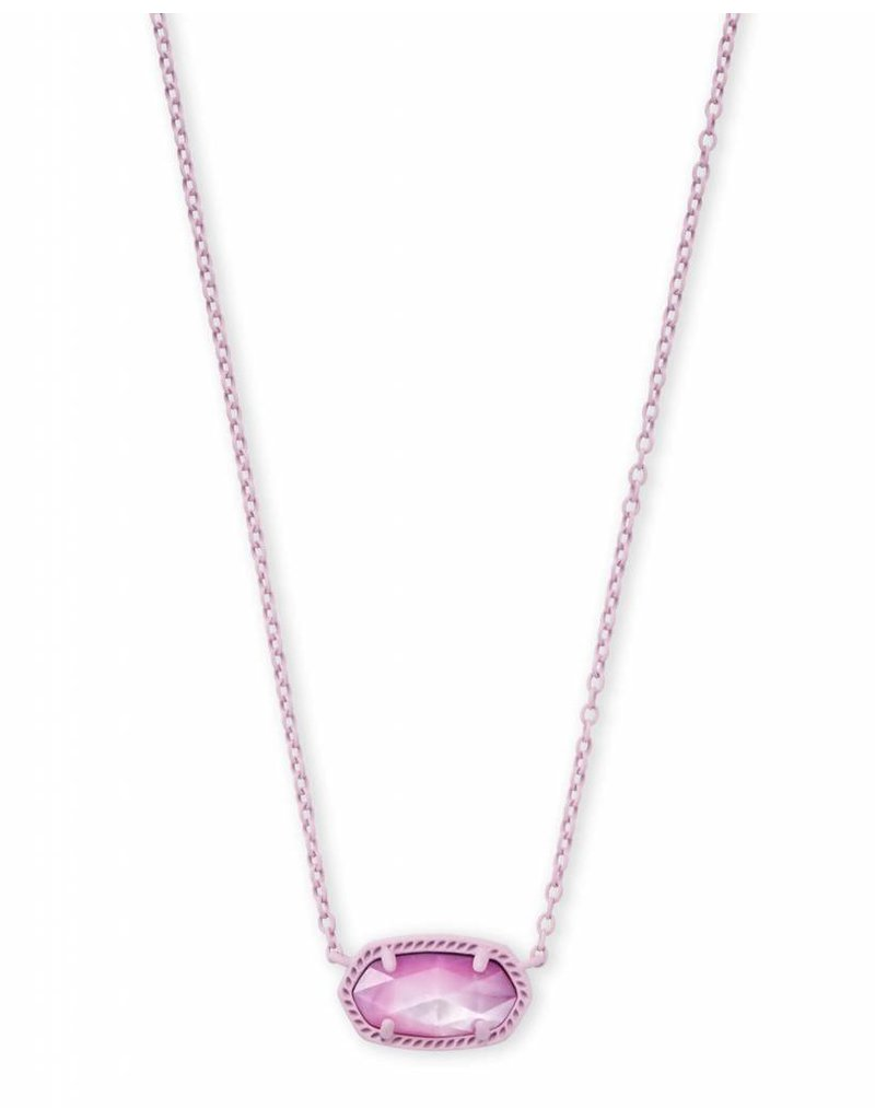 Kendra Scott Kendra Scott Elisa Necklace in Matte Lilac MOP