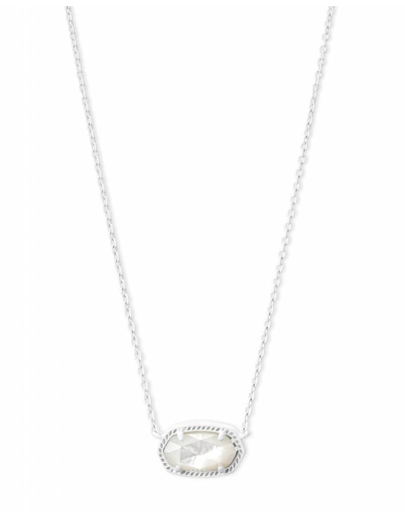 Kendra Scott Kendra Scott Elisa Necklace in Matte White Ivory MOP