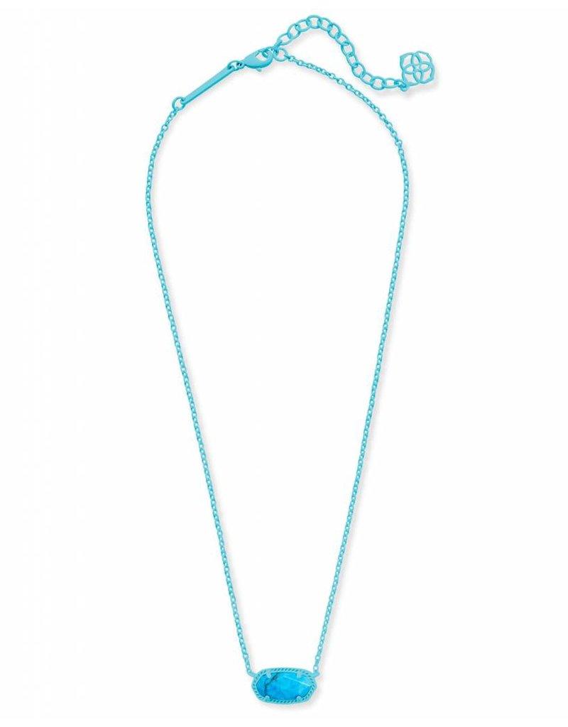 Kendra Scott Kendra Scott Elisa Necklace in Matte Aqua Howlite
