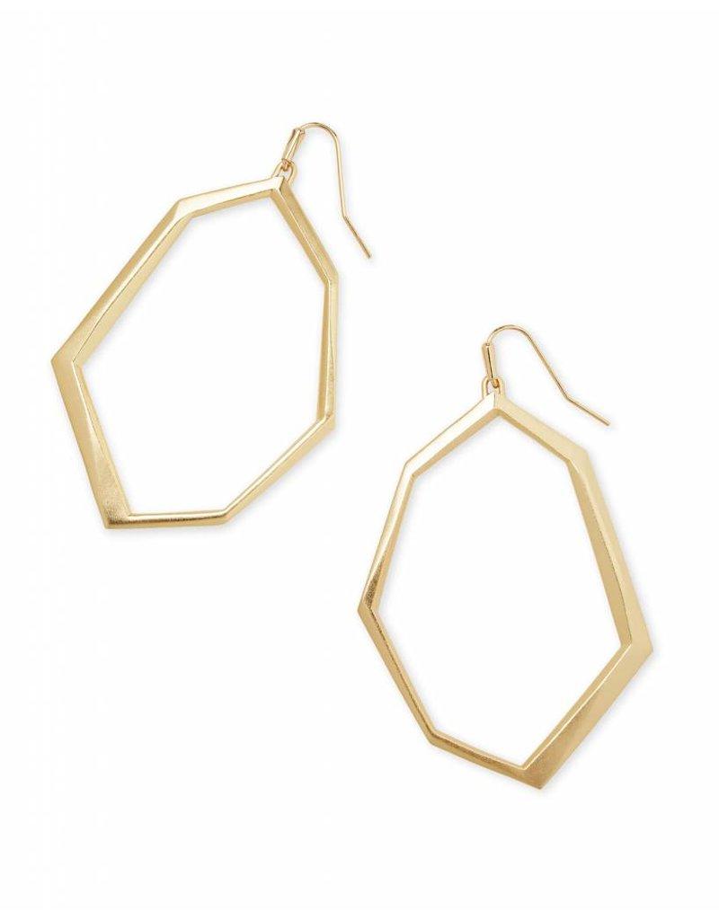 Kendra Scott Kendra Scott Lindsey Earrings in Gold
