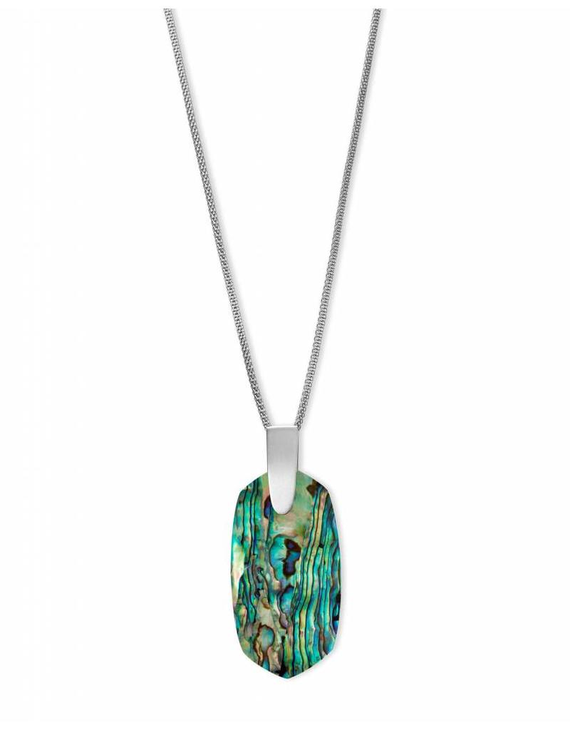 Kendra Scott Kendra Scott Inez Necklace in Silver Abalone Shell