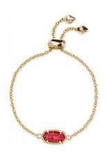 Kendra Scott Kendra Scott Elaina Bracelet in Gold Red MOP