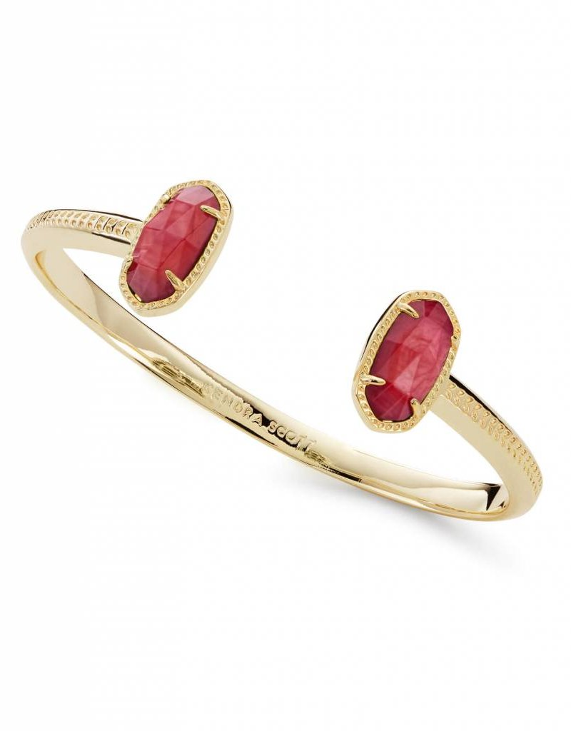 Kendra Scott Kendra Scott Elton Bracelet in Gold Red MOP