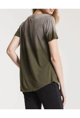 Z Supply Ombre V-Neck Tee - Olive