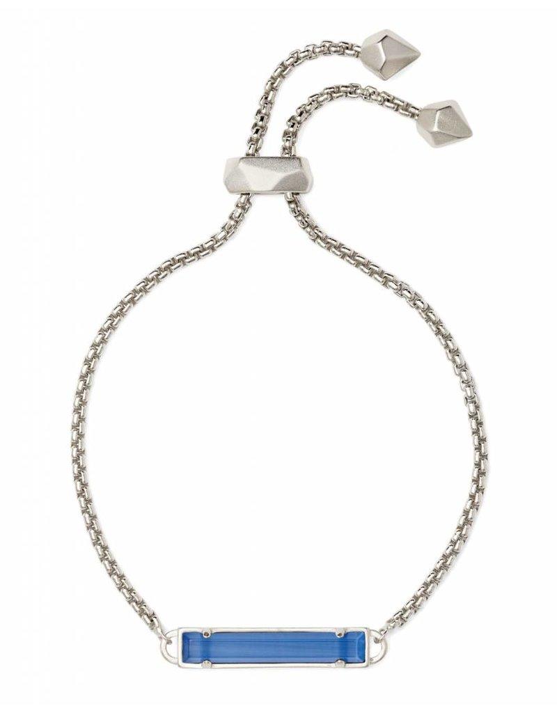 Kendra Scott Stan Bracelet Periwinkle on Silver