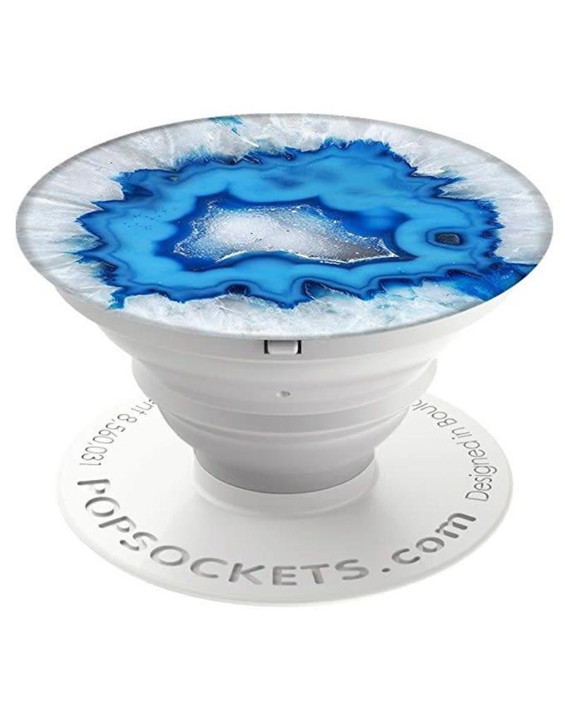 Popsocket Ice Blue Agate