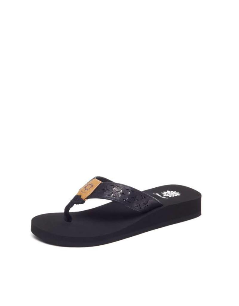 Girl's Benji II Black Sandals