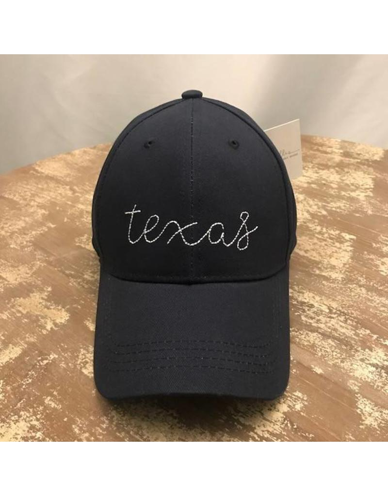 Ever Ellis Navy Texas Hat