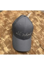 Ever Ellis Gray/White Embroidery Hat- Old School