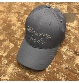 Ever Ellis Gray Throwing Shade Hat