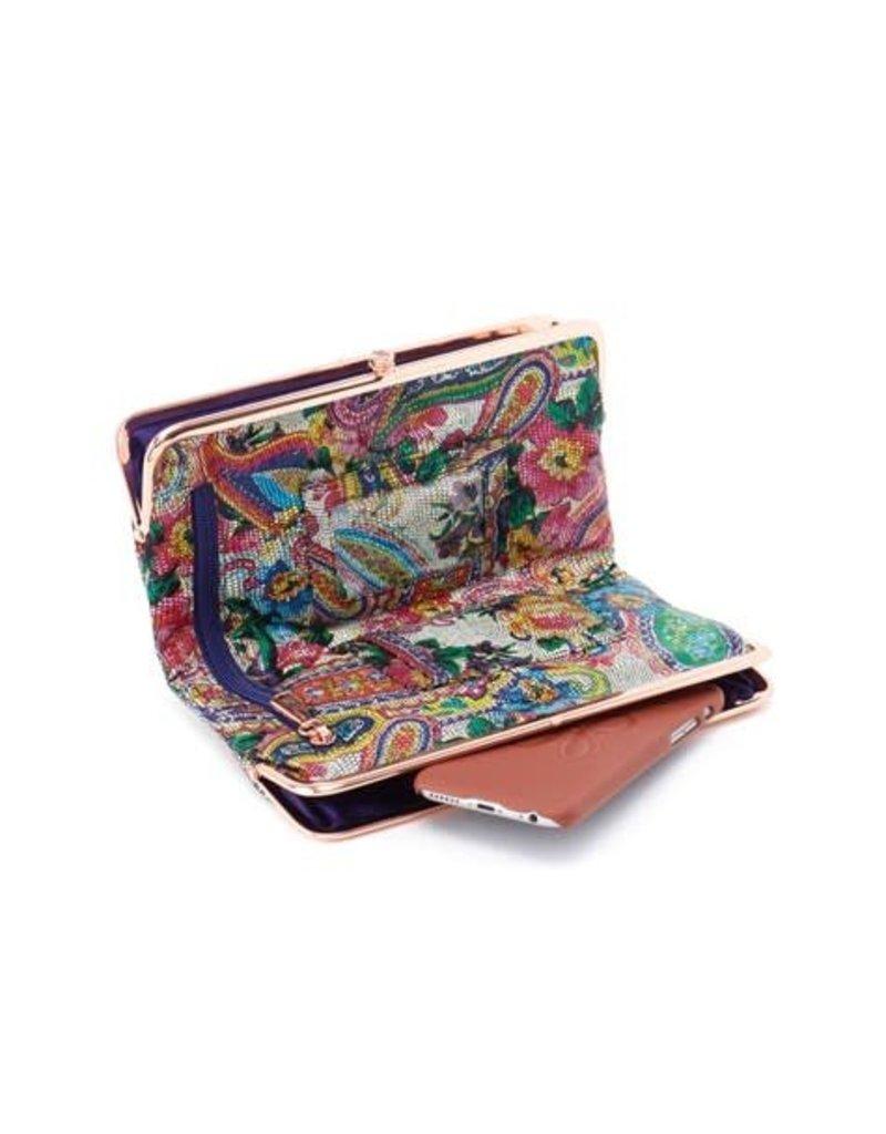 Hobo Lauren Wallet Mosaic Paisley