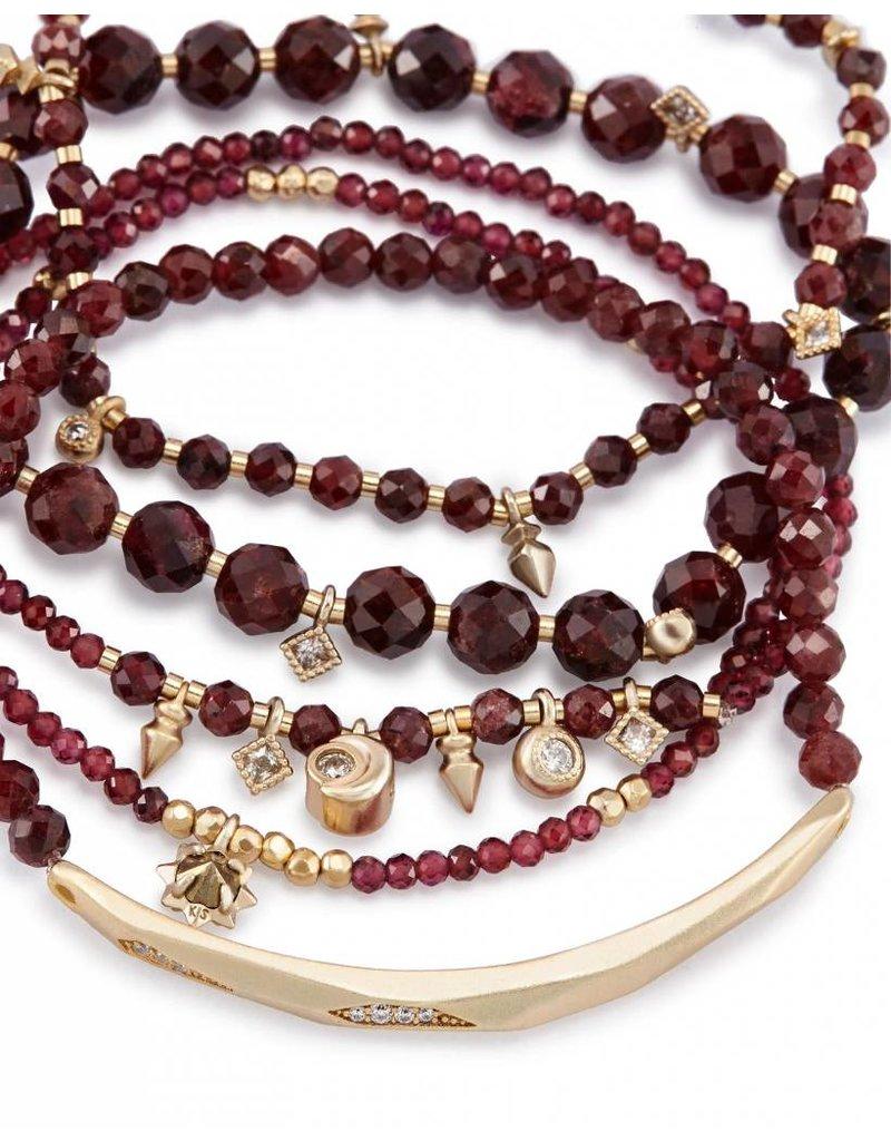 Kendra Scott Kendra Scott Supak Bracelet in Red Garnet