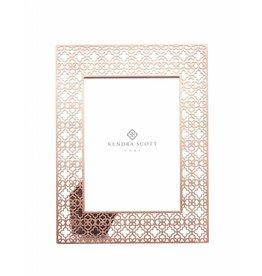 Filigree 5x7 Frame in Rose Gold