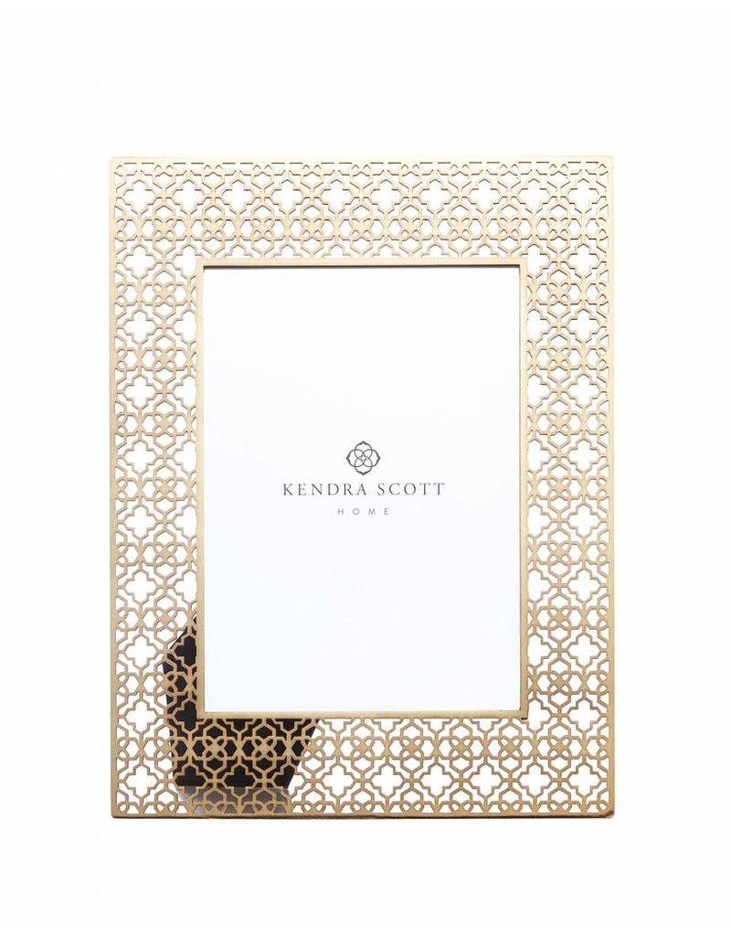 Kendra Scott 5x7 Frame in Bright Brass