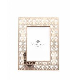 Filigree Rose Gold 4x6 Frame