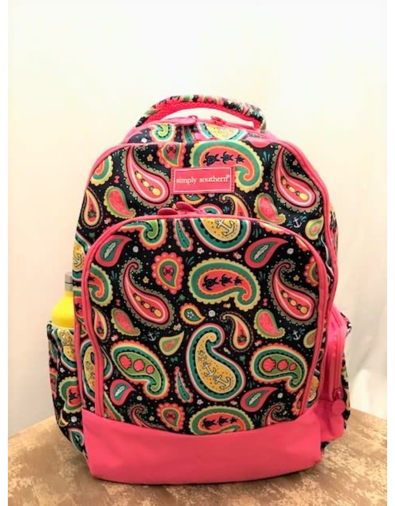 Simply Southern Paisly Backpack