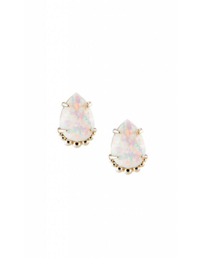 Natalie Wood Natalie Wood Opal  Stud Earrings