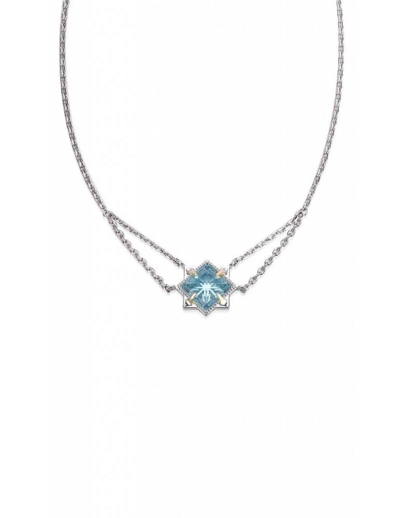 Natalie Wood Natalie Wood Blue Topaz Runaway Necklace