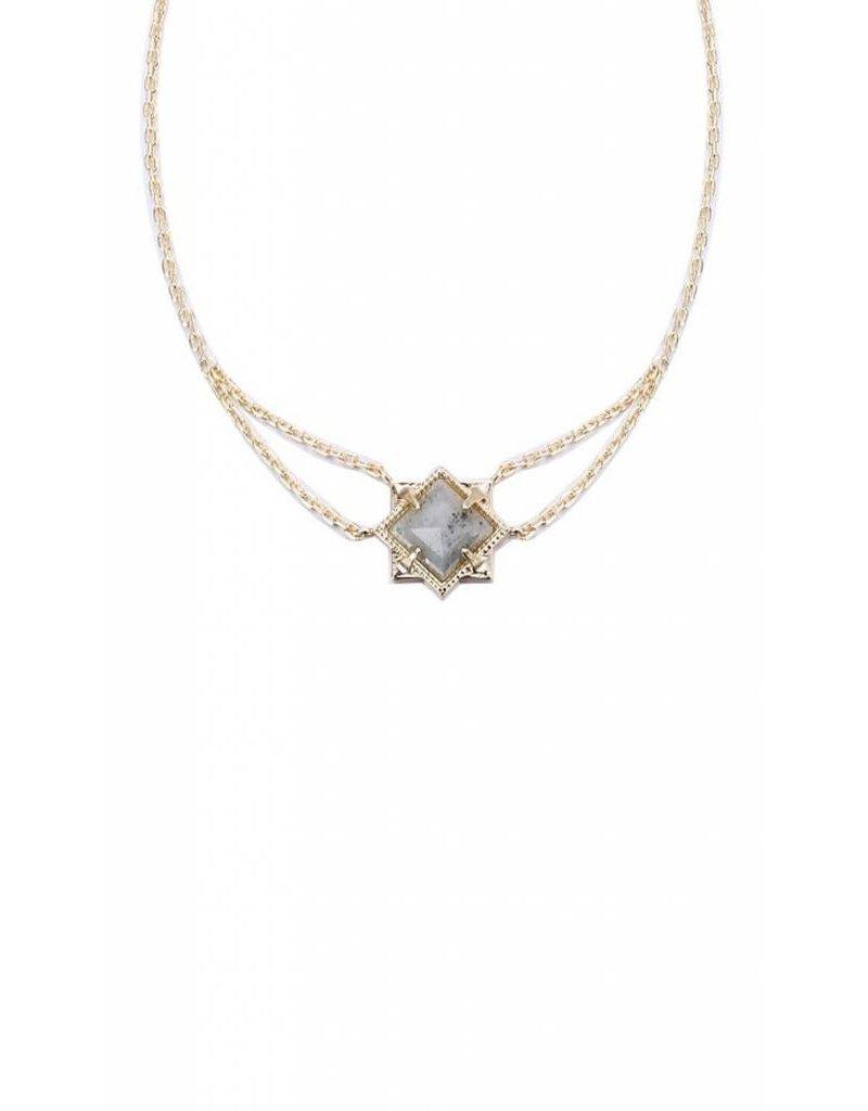 Natalie Wood Natalie Wood Labradorite Runaway Necklace