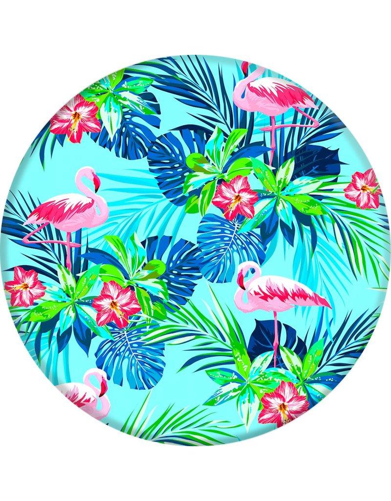 PopSocket Rainforest Flamingos