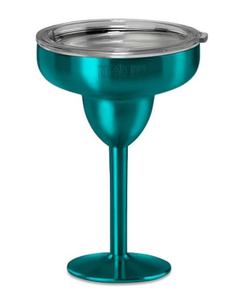 Stainless Insulated Margarita Glass in Teal