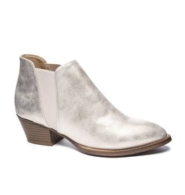 Chinese Laundry Corbin Booties- Metallic Gold