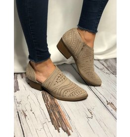 Anouk Laser Cut Detail in Taupe