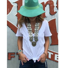 Concho w/ Turq Necklace