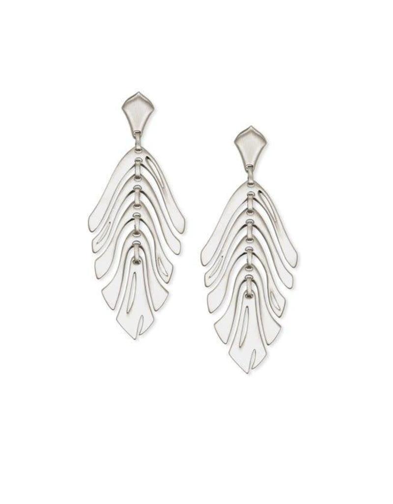 Kendra Scott Luca Earrings in Silver