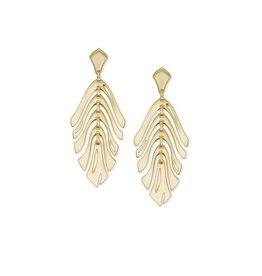 Kendra Scott Luca Earrings in Gold
